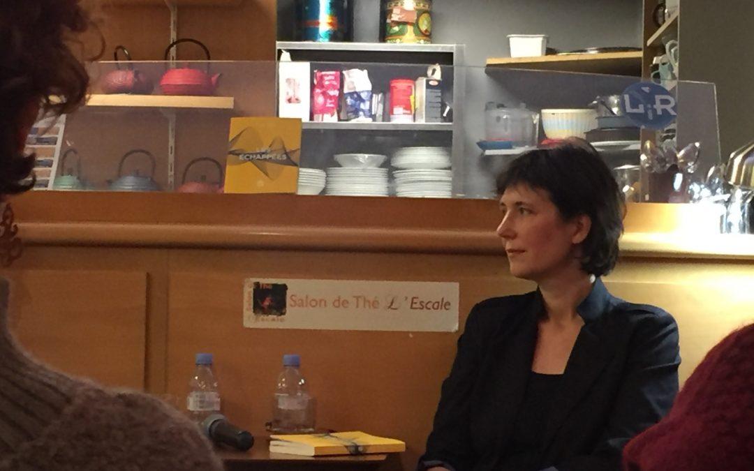 Lucie Taïeb à la rencontre de ses lecteurs